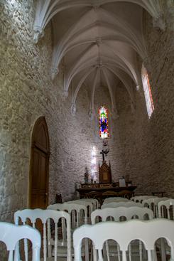 Une chapelle pour un mariage intime